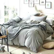 grey king size duvet cover brief plaid design bedding set queen twin cotton