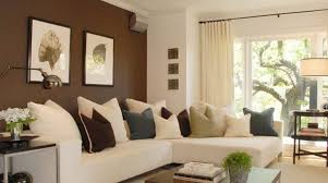 Brown Color Contrast Wall Home Decoration Colour Paint