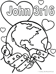 Bible Coloring Pages For Kids Religious Coloring Pages For
