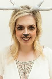 makeup tutorial try this easy deer costume
