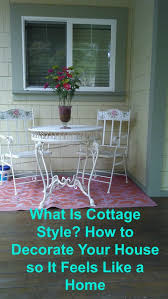 outdoor furniture comes indoor and indoor furniture goes outdoor in cottage style it s eclectic