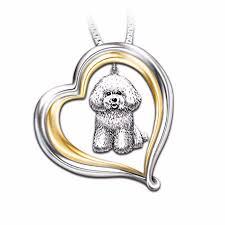 bichon frise loyal panion necklace
