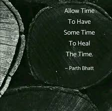 Time Heal Doctor Life Parthbhatt90 Instagram English Quote