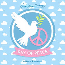 international day of peace dove with an olive branch and the symbol of peace free