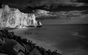 black and white nature wallpaper quotes. Black White Nature Landscapes Mountains Cliff Shore Coast Sky Clouds Beaches Wallpaper 44203 WallpaperUP Intended And Quotes
