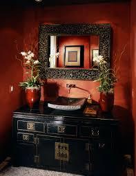 Dark Red Bathroom Bathroom Remodeling Eco Design Pro