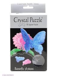 "Головоломка ""БАБОЧКА"" Crystal puzzle 1914086 в интернет ..."