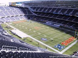 Soldier Field Seating Chart For Kenny Chesney Concert Soldier Field Section 430 Chicago Bears Tickets Browns