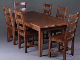 7ft dining table: solid oak  foot kitchen dining table with chairs
