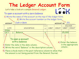 the general ledger of a business the general ledger 4 post to the ledger the 4 th step of the
