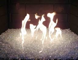 fireplace fire pit glass