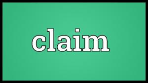 Image result for claim