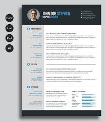 Free Resume Templates Extraordinary 60 Free Printable Resume Templates 60 To Get A Dream Job CV