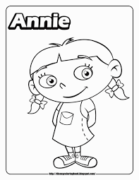 Little Einstein Coloring Pages