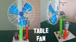 How to Make a Revolving Table Fan at Home - Best out of waste ...