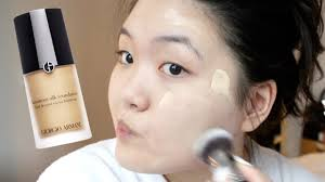 Armani Designer Foundation Review Giorgio Armani Luminous Silk Foundation Review Shade 3