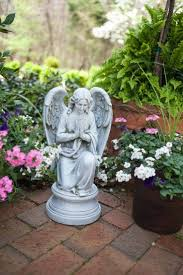 A beautiful angel figure adds a touch of heaven to any garden!