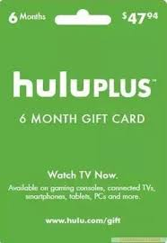 hulu plus 6 month 12months only usa gift subscription gift card send code only from s 10 12 dhgate