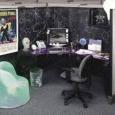 cubicle office space. View In Gallery Cubicle With A Science Fiction Motif Office Space