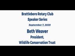 Brattleboro Rotary Club Speaker Series: Episode 17 - Beth Weaver - YouTube