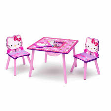 hello kitty furniture. Hello Kitty Toddler Table And Chair Set With Storage Furniture L