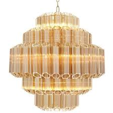 eichholtz gold vittoria chandelier small 3 470 liked on polyvore featuring home