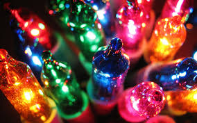christmas lights desktop wallpaper. Colorful Christmas Lights Desktop Background Hd Wallppaer Inside Wallpaper