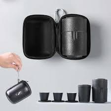 <b>TANGPIN</b> chinese <b>ceramic teapot tea pot gaiwan</b> teacups portable ...