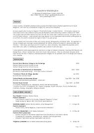 Sample Artist Resume Examples Of Artist Resumes Resume For Study