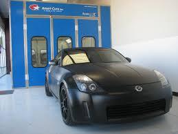 flat black car paint
