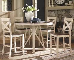 counter height dining table steve silver lakewood piece