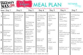 keep to the meal plan and make sure you get enough calories the meal plan is very similar to the 21 day fix that i had been following and the recipes that