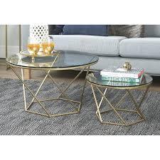 2 piece coffee table geometric glass 2 piece coffee table set view 2 piece nesting coffee