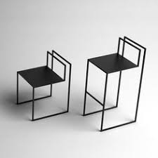 metal furniture design. nissa kinzhalinau0027s gentle hint chairs resemble line drawings drawing designsfurniture chairsfurniture designmetal metal furniture design r