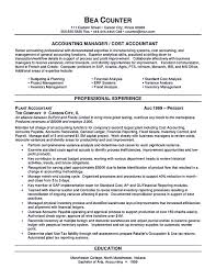 Inspirational Accounting Resume Skills Accountant Example Of