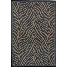 recife zebra black cocoa 8 ft x 11 ft indoor outdoor area