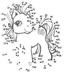 Small Picture My Little Pony Dot to Dotlove the idea of doing this as a