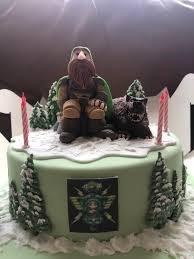 For Khaz Modan My Girlfriend Had A Pretty Cool Cake Made For My