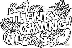 Give Thanks Coloring Pages Beautiful Thanksgiving Activities Page
