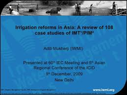 Asia Charts Review Irrigation Reforms In Asia A Review Of 108 Case Studies Of