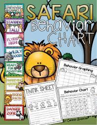 Chart Jungle Behavior Clip Chart Jungle Safari Theme