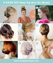 9 Favourite Easy Updos For Moms The Diy Mommy