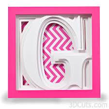 3DCuts Alphabet front G format=500w