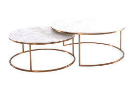 round faux marble coffee table round marble nest coffee tables urban rhythm white table set top