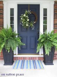 What Are The Best Paint Colours for a Front Door? | Front doors, Kylie and  Planters