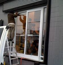 glass door install commercial