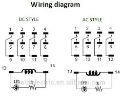 pyf14a relay base wiring diagram facbooik com 11 Pin Relay Wiring Diagram 14 pin relay base wiring diagram 14 11 pin relay base wiring diagram