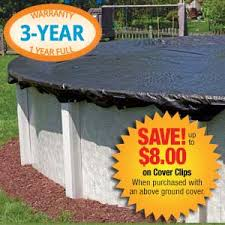 24 Foot Fine Mesh Round Winter Pool Cover for Above Ground Pools