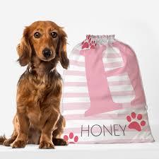personalised pet dog bag