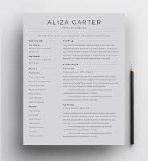 Modern Resume For Freshmen Creative Resume Template Minimalist Resume Resume Design Modern Resume Cv Template Clean Resume Professional Resume Template For Word